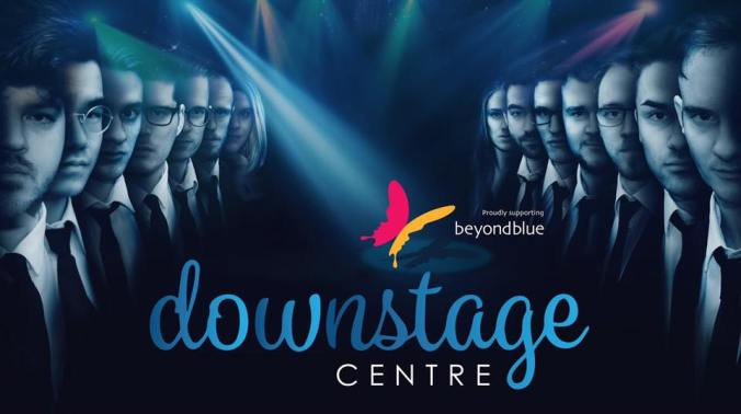 downstage centre